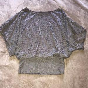 Soft lace blouse